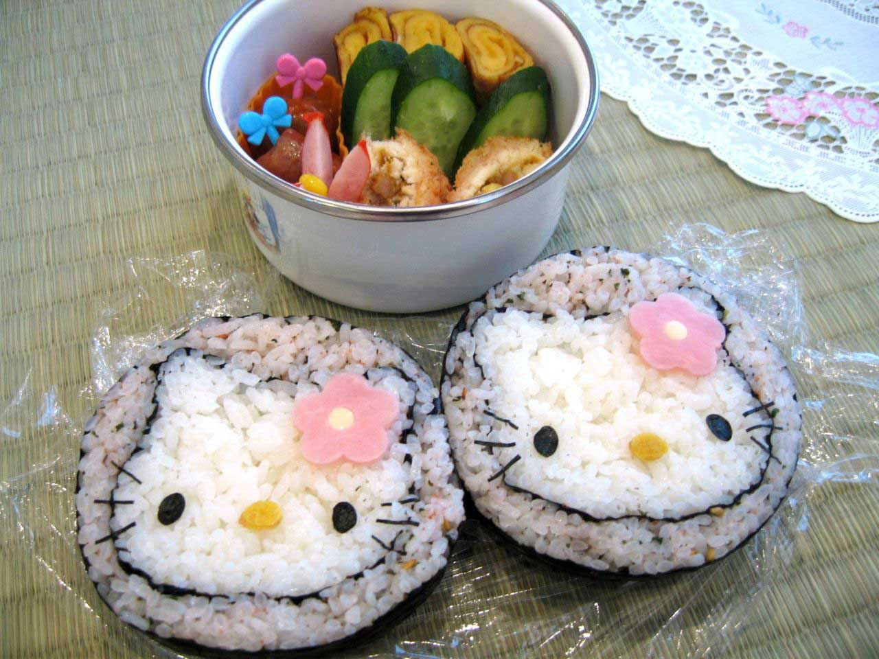 Sushi cute Hello Kitty